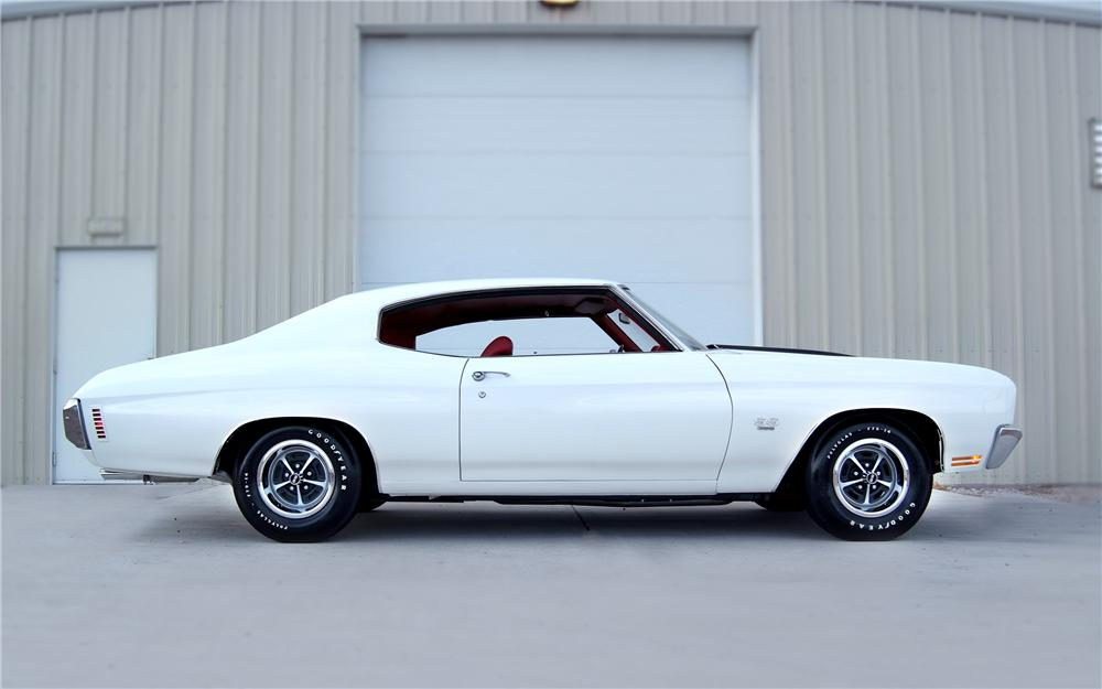 1970 CHEVROLET CHEVELLE SS 396 COUPE - Side Profile - 93328