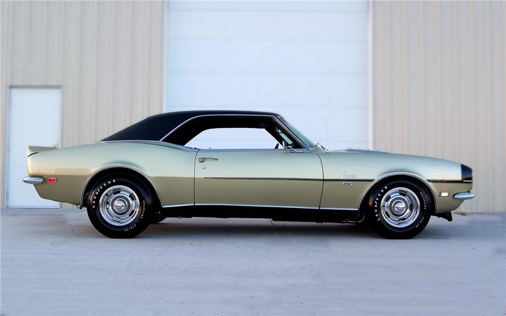 1968 CHEVROLET CAMARO CUSTOM COUPE - Side Profile - 93330
