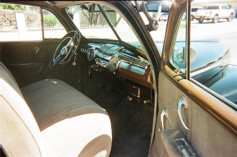 1948 FORD DELUXE 2 DOOR SEDAN - Interior - 93333