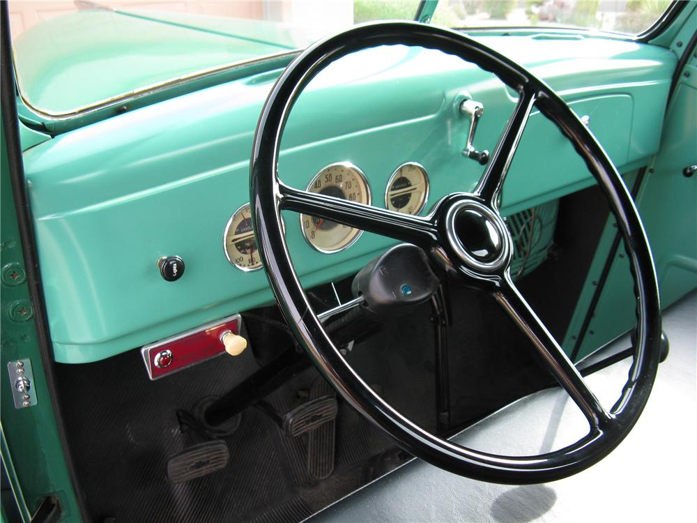 1939 CHEVROLET 1/2 TON PICKUP - Interior - 93338