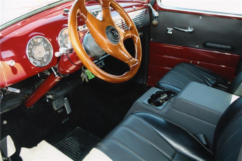 1950 CHEVROLET 3100 PICKUP - Interior - 93349