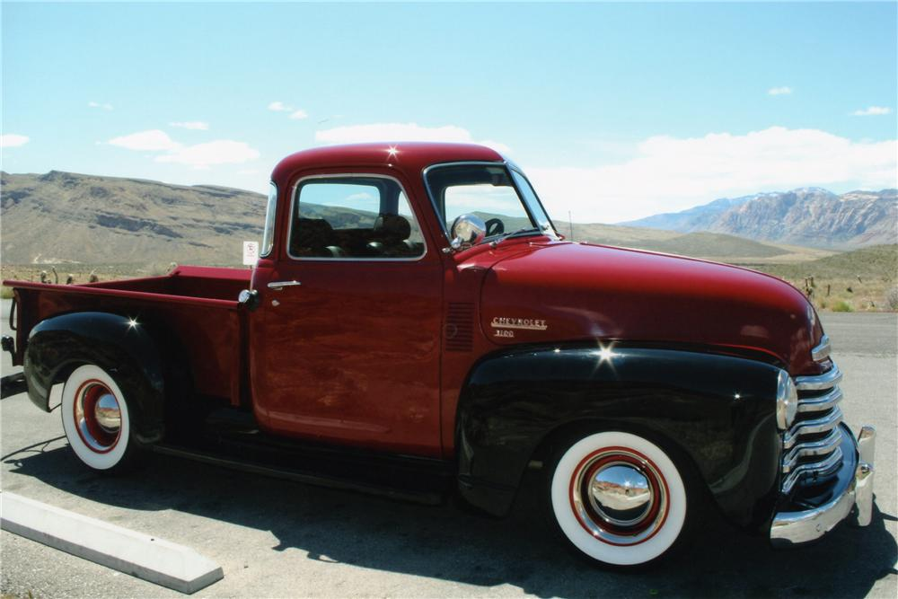 1950 CHEVROLET 3100 PICKUP - Side Profile - 93349