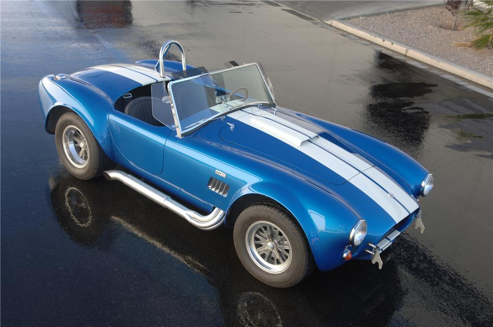 1965 SHELBY COBRA CSX 6000 ROADSTER - Front 3/4 - 93353