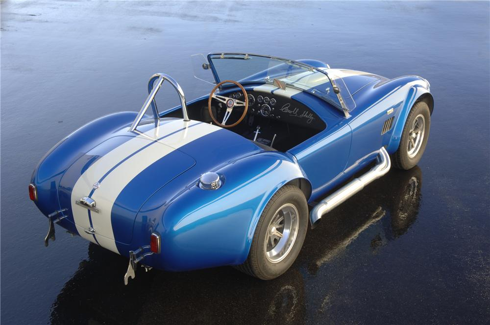 1965 SHELBY COBRA CSX 6000 ROADSTER - Rear 3/4 - 93353