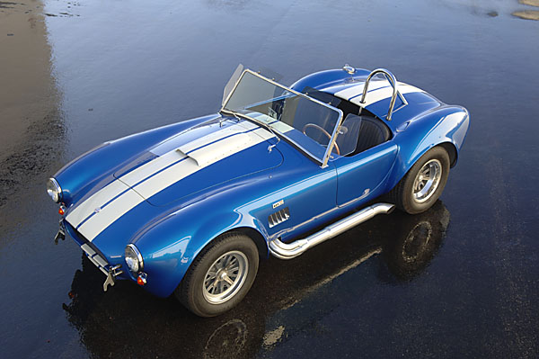 1965 SHELBY COBRA CSX 6000 ROADSTER - Side Profile - 93353