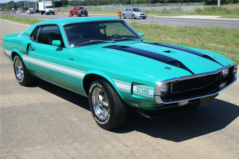 1970 SHELBY GT500 FASTBACK - Front 3/4 - 93354