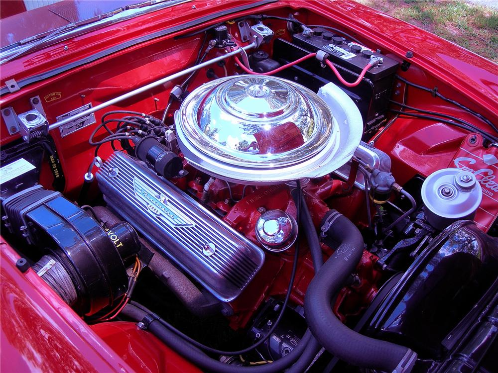 1956 FORD THUNDERBIRD CONVERTIBLE - Engine - 93365