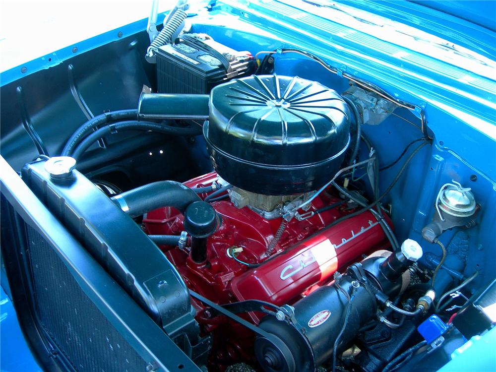 1956 CHEVROLET BEL AIR CONVERTIBLE - Engine - 93366