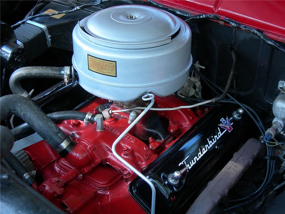 1955 FORD SUNLINER CONVERTIBLE - Engine - 93368