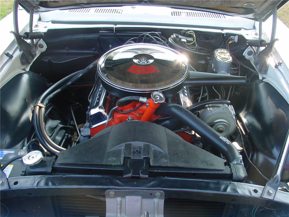 1967 CHEVROLET CAMARO RS/SS PACE CAR CONVERTIBLE - Engine - 93371