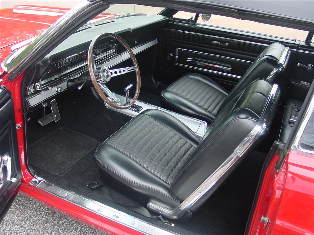 1966 FORD FAIRLANE 500 GT CONVERTIBLE - Interior - 93375