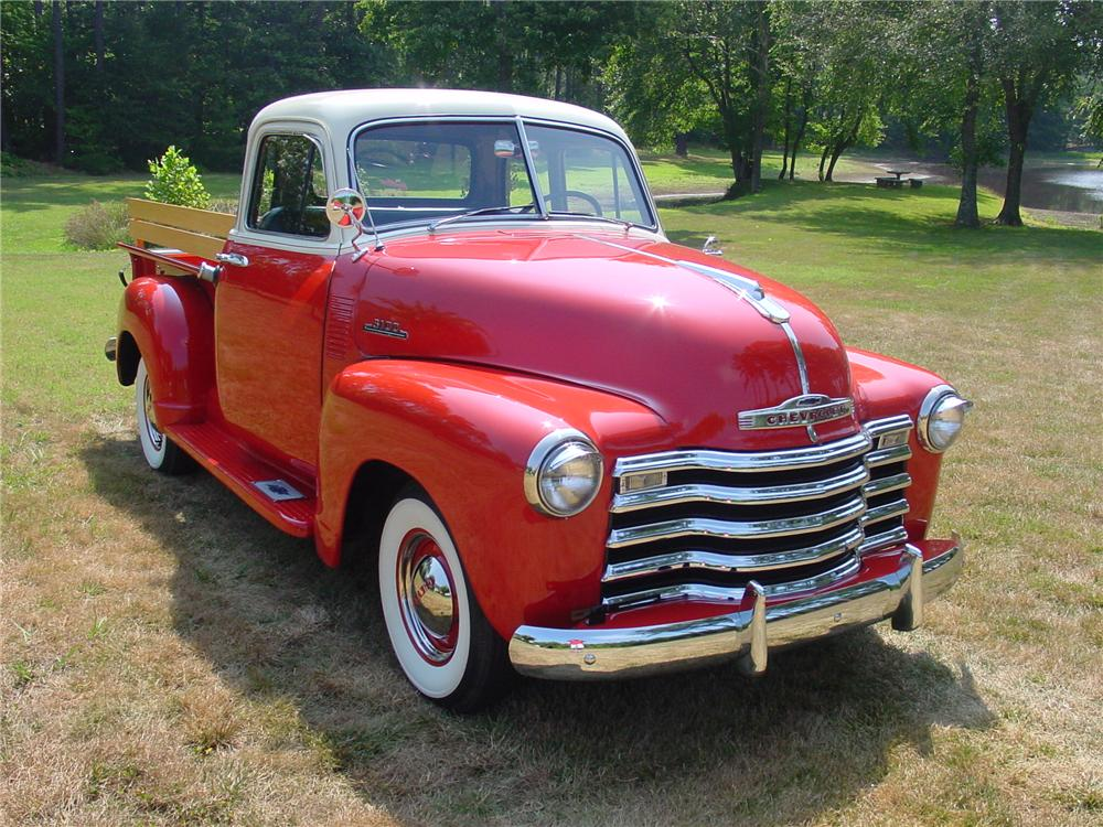 1953 CHEVROLET 3100 PICKUP - Front 3/4 - 93381