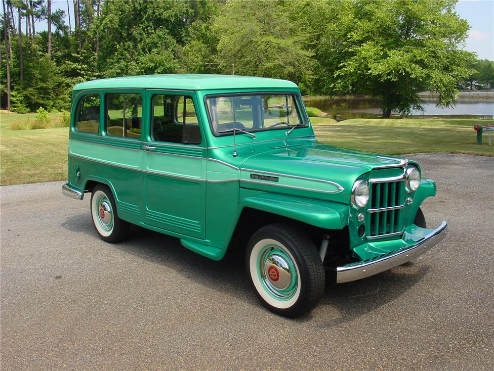 1960 WILLYS JEEP STATION WAGON - Front 3/4 - 93383