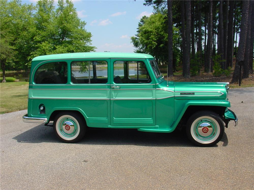 1960 WILLYS JEEP STATION WAGON - Side Profile - 93383