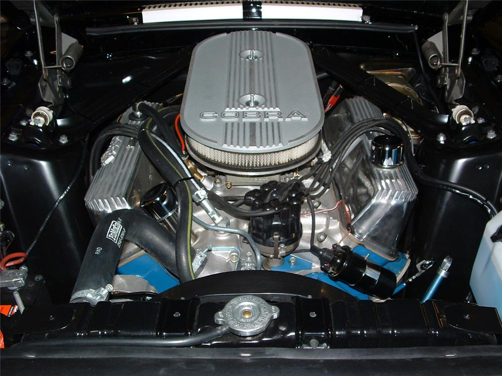 1967 FORD MUSTANG CUSTOM FASTBACK - Engine - 93384
