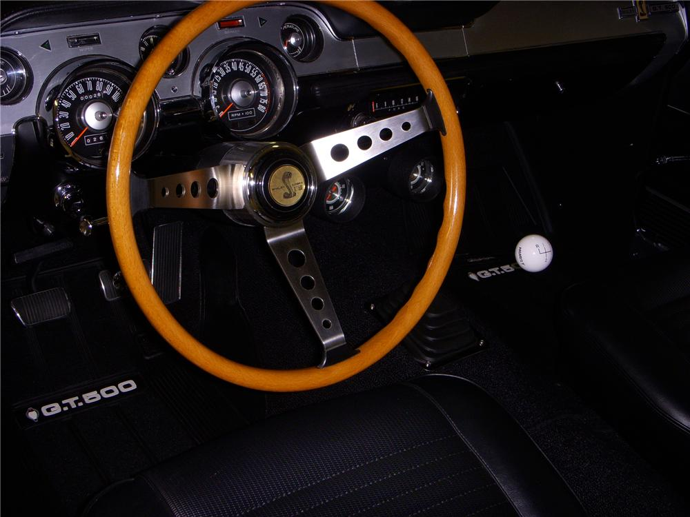 1967 FORD MUSTANG CUSTOM FASTBACK - Interior - 93384