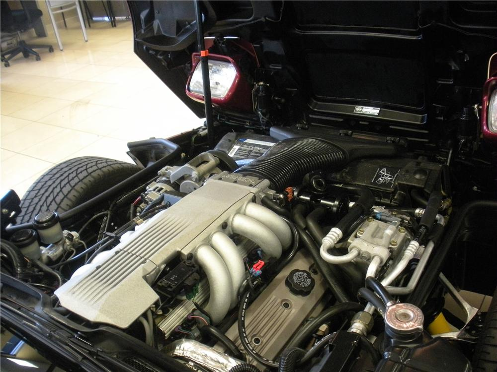 1991 CHEVROLET CORVETTE COUPE - Engine - 93385