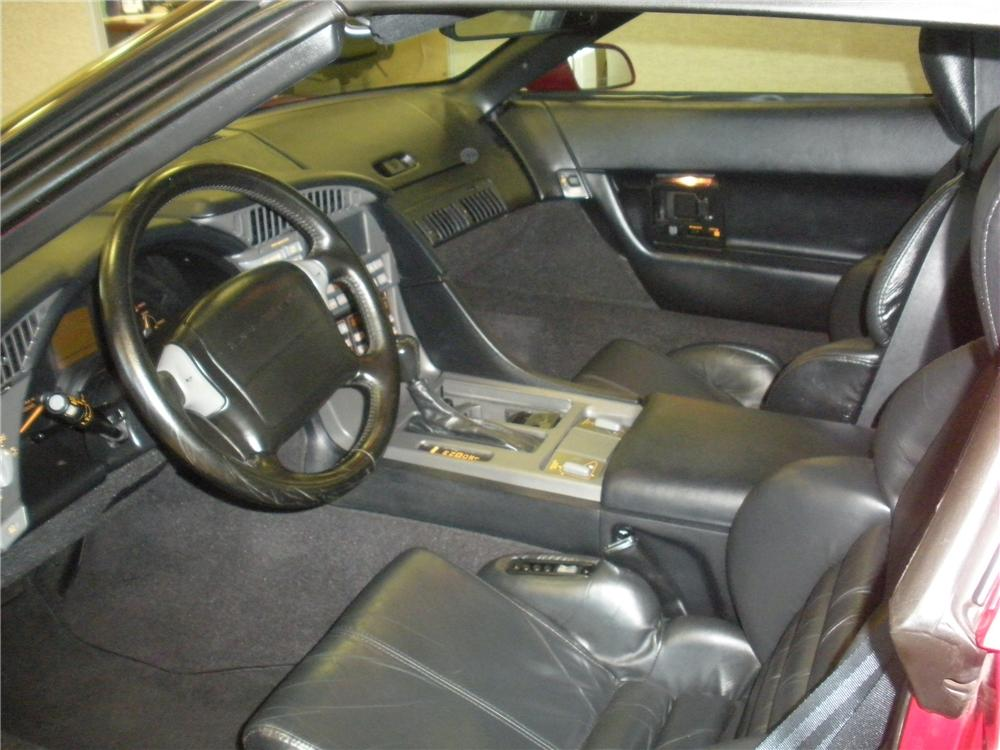 1991 CHEVROLET CORVETTE COUPE - Interior - 93385