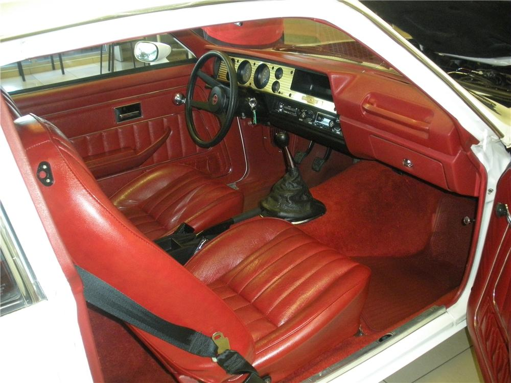 1976 CHEVROLET VEGA COSWORTH 2 DOOR - Interior - 93389