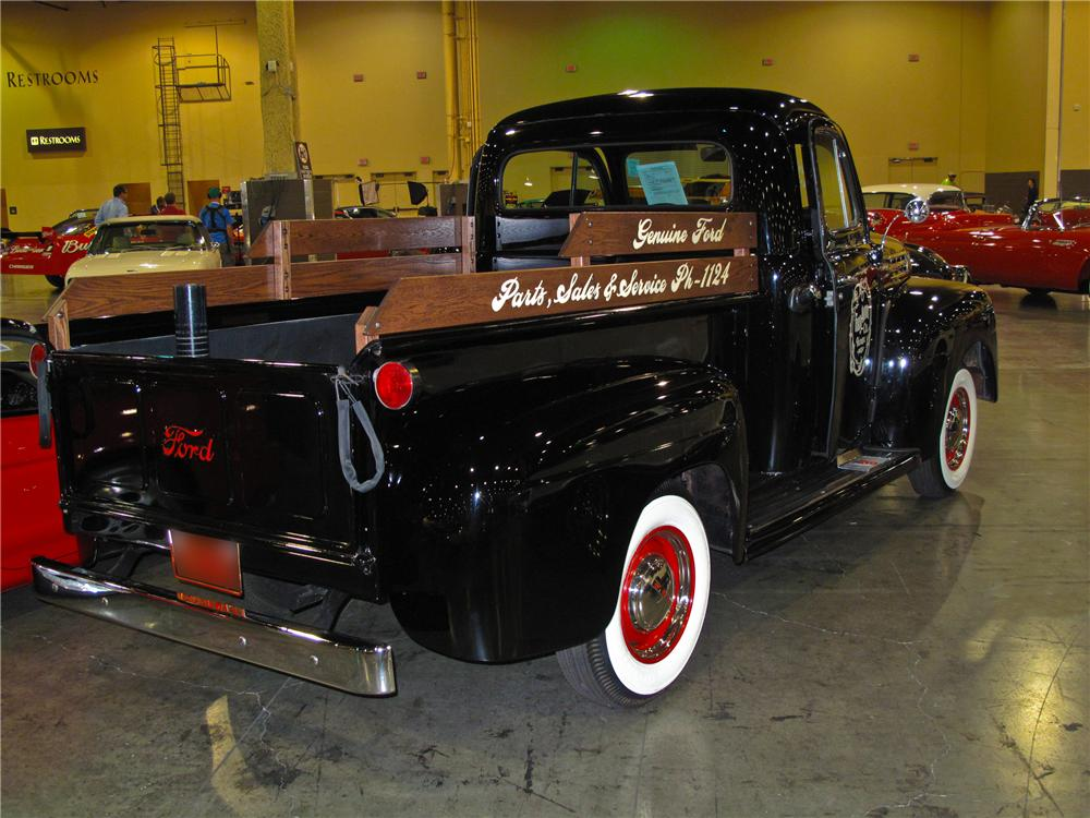 1952 FORD F-1 PICKUP - Rear 3/4 - 93390