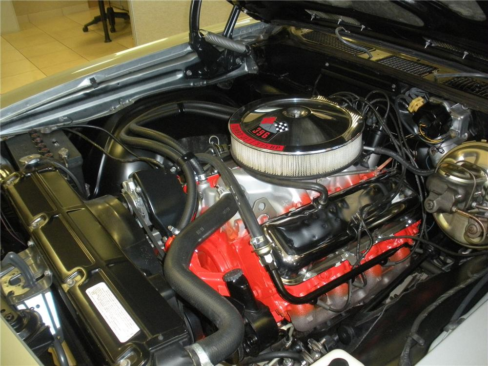 1969 CHEVROLET CHEVELLE SS 396 COUPE - Engine - 93393