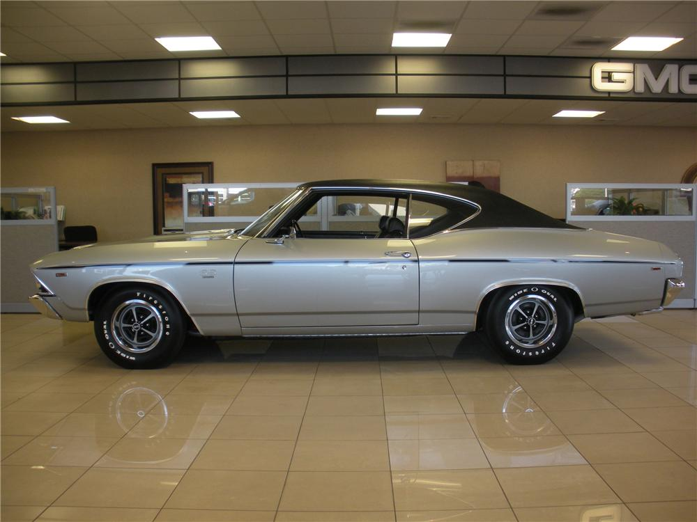 1969 CHEVROLET CHEVELLE SS 396 COUPE - Side Profile - 93393