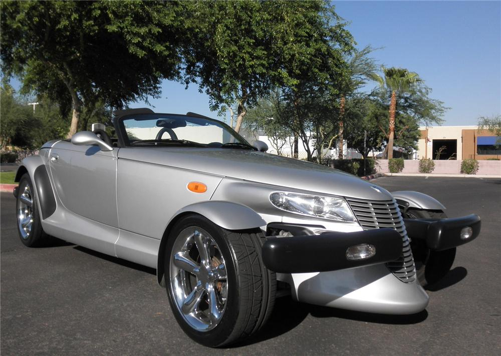 2000 PLYMOUTH PROWLER CONVERTIBLE - Front 3/4 - 93395
