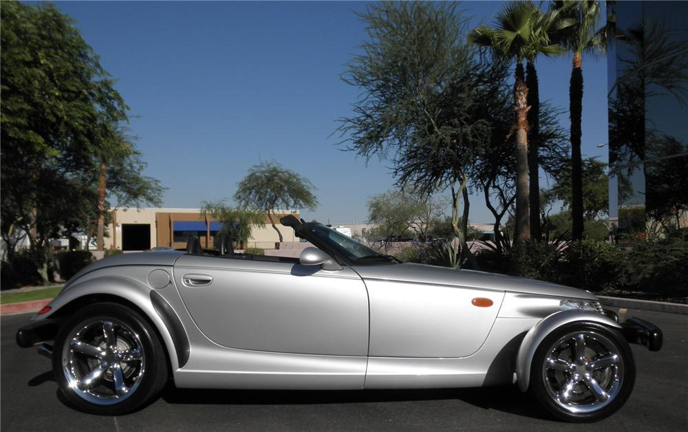 2000 PLYMOUTH PROWLER CONVERTIBLE - Side Profile - 93395