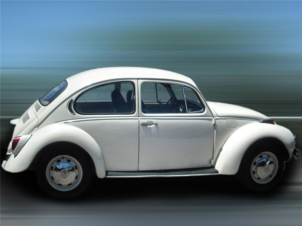 1971 VOLKSWAGEN SUPER BEETLE 2 DOOR - Side Profile - 93399