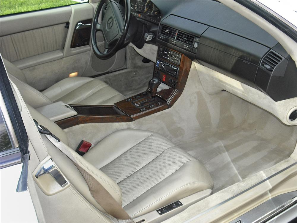 1994 MERCEDES-BENZ 600SL ROADSTER - Interior - 93401