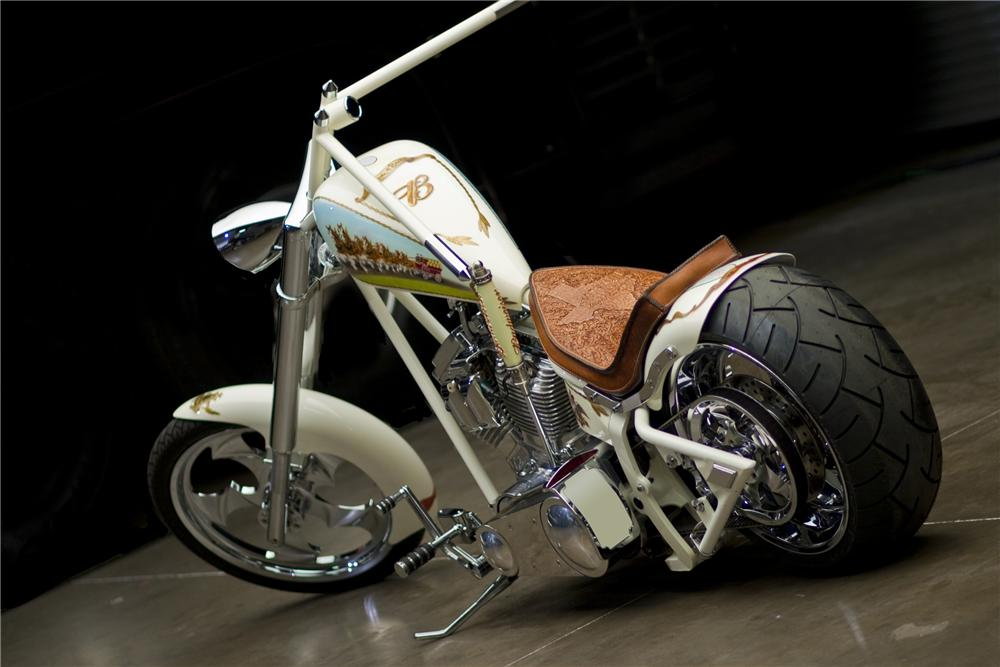 2004 CUSTOM CHOPPER - Rear 3/4 - 93402