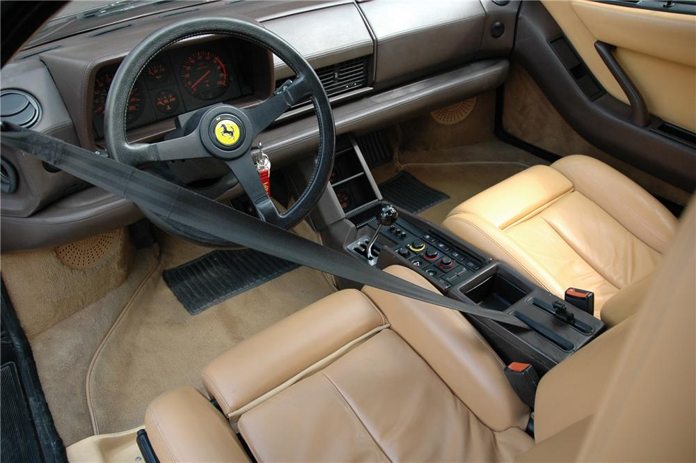 1988 FERRARI 512 TESTAROSSA 2 DOOR COUPE - Interior - 93405