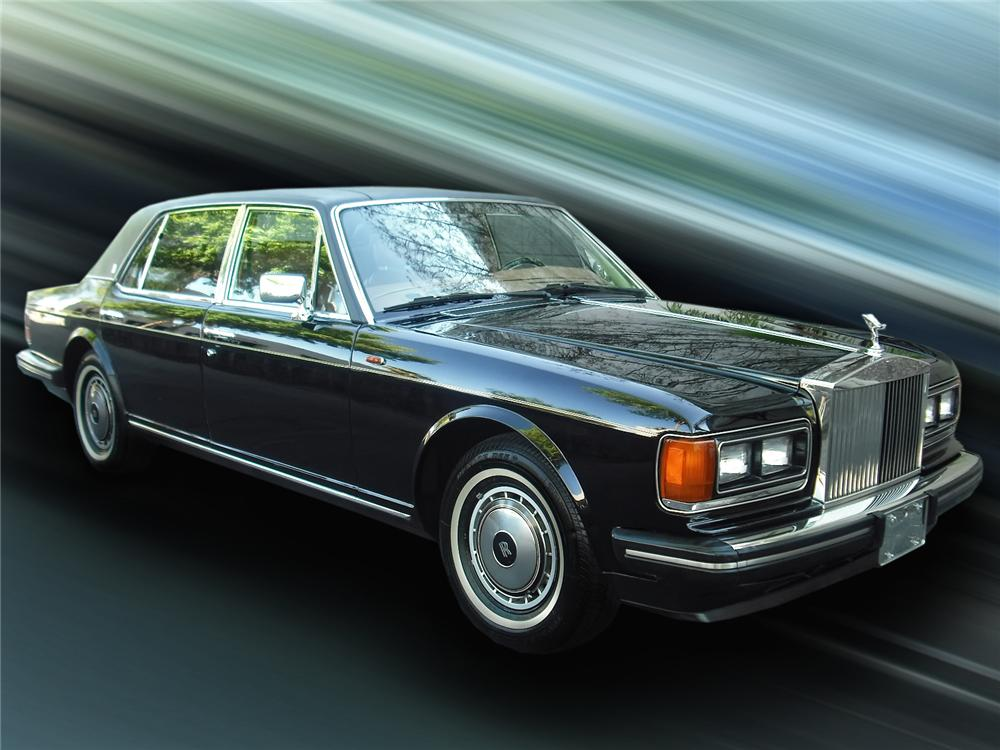 1990 ROLLS-ROYCE SILVER SPUR 4 DOOR SEDAN - Front 3/4 - 93409