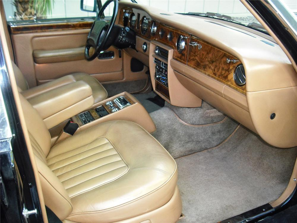 1990 ROLLS-ROYCE SILVER SPUR 4 DOOR SEDAN - Interior - 93409