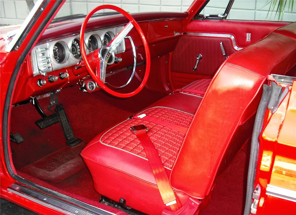 1964 PLYMOUTH BELVEDERE CUSTOM 2 DOOR - Interior - 93412