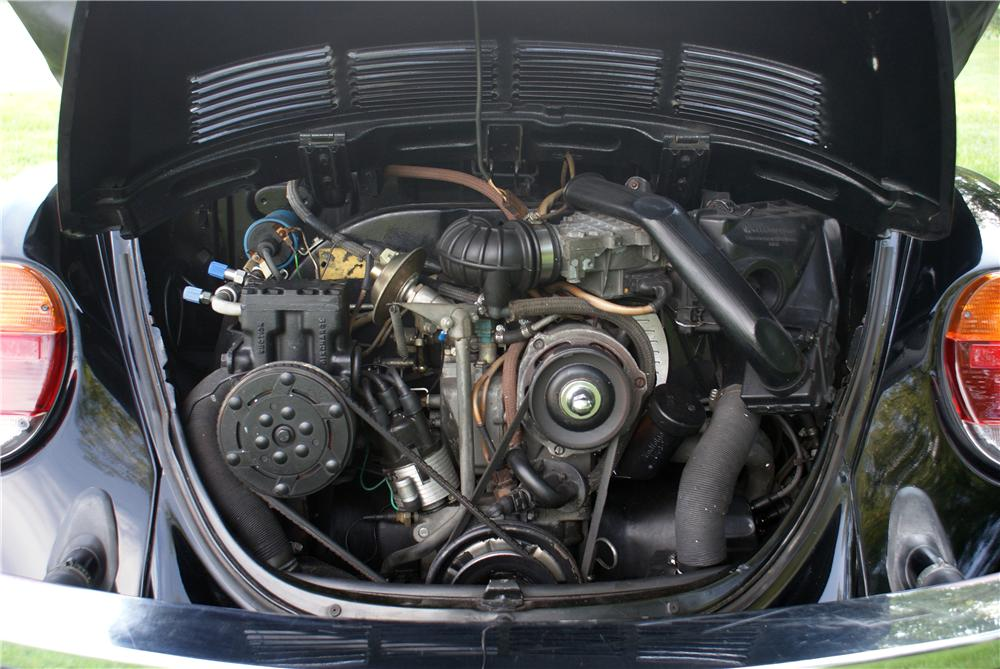 1979 VOLKSWAGEN BEETLE CONVERTIBLE - Engine - 93421