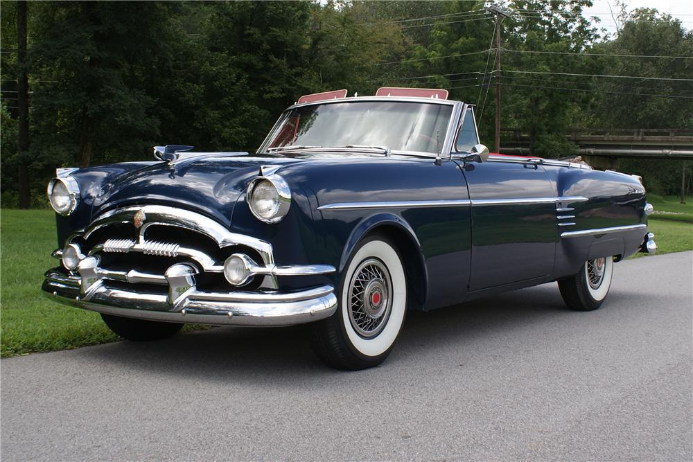 1954 PACKARD VICTORIA CONVERTIBLE - Front 3/4 - 93422
