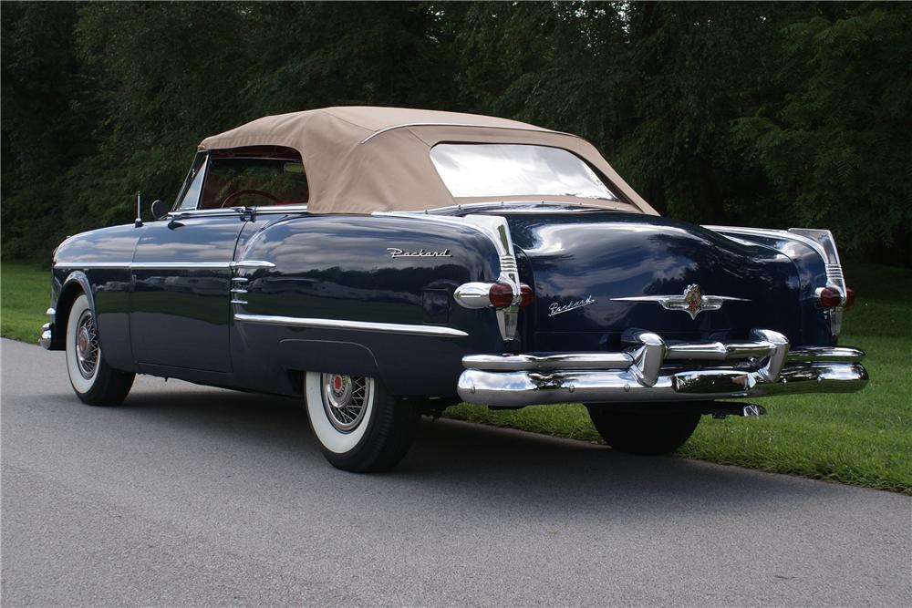 1954 PACKARD VICTORIA CONVERTIBLE - Rear 3/4 - 93422
