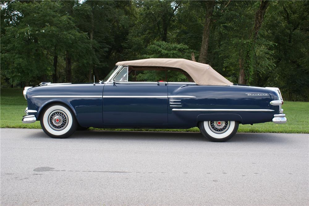 1954 PACKARD VICTORIA CONVERTIBLE - Side Profile - 93422
