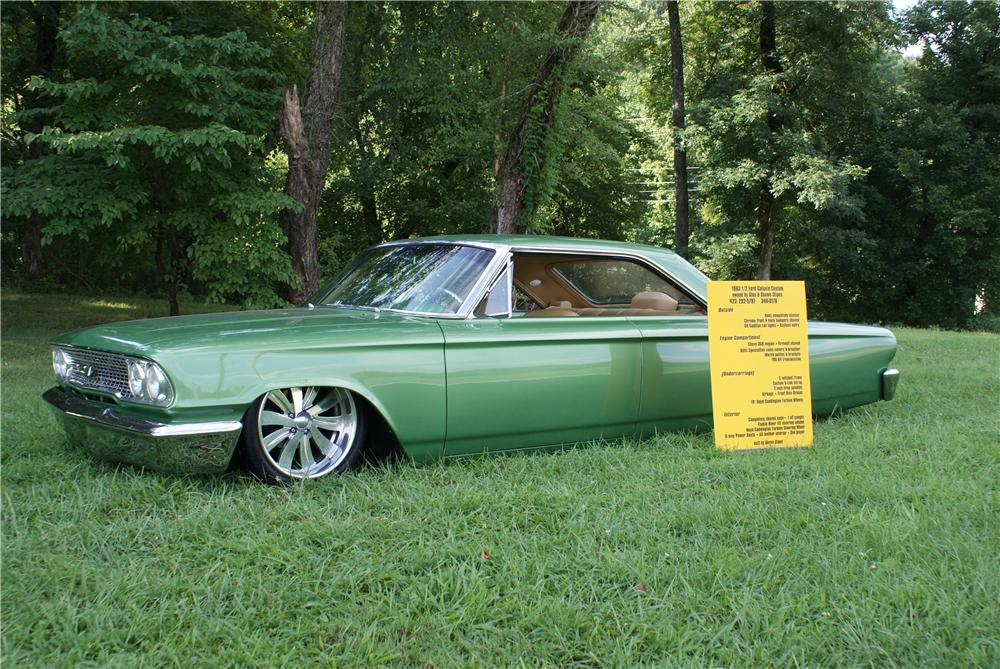 1963 FORD GALAXIE 500 CUSTOM 2 DOOR HARDTOP - Side Profile - 93423