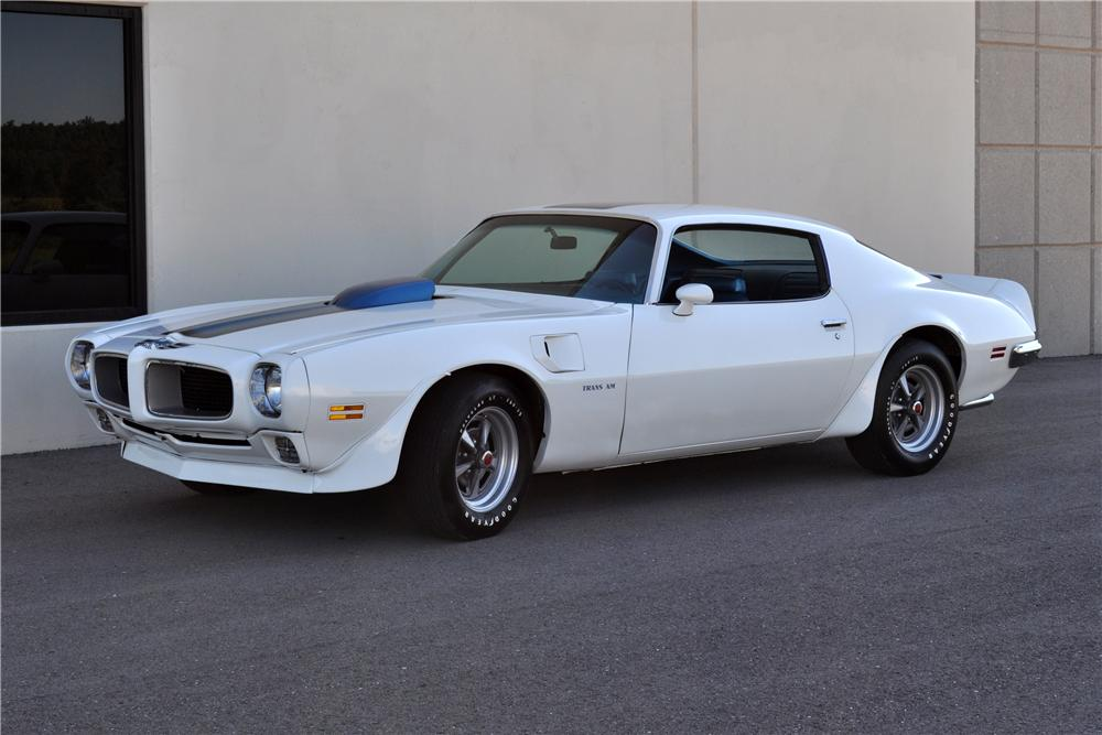 1970 PONTIAC FIREBIRD TRANS AM COUPE - Front 3/4 - 93426