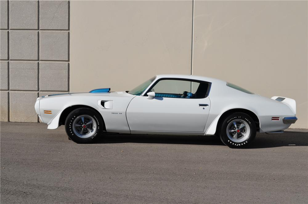 1970 PONTIAC FIREBIRD TRANS AM COUPE - Side Profile - 93426
