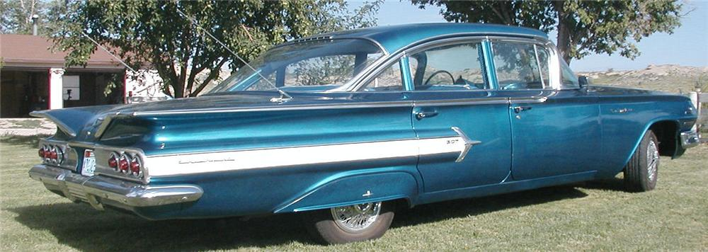 ... 1960 CHEVROLET BEL AIR CUSTOM 4 DOOR HARDTOP - Rear 3/4 - 93437 ... & 1960 CHEVROLET BEL AIR CUSTOM 4 DOOR HARDTOP93437