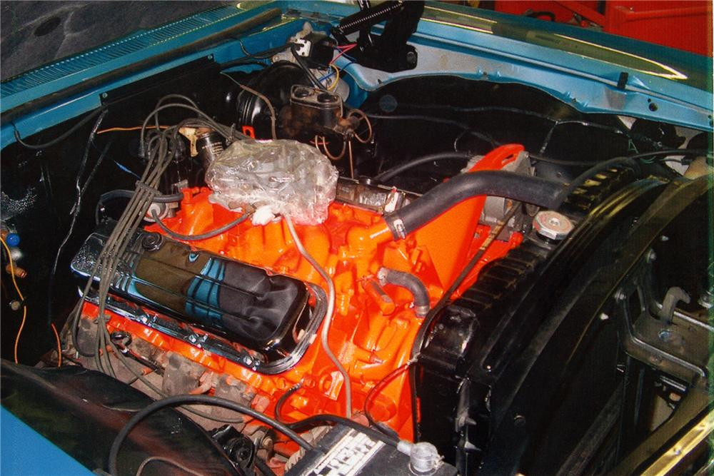 1967 CHEVROLET IMPALA CONVERTIBLE - Engine - 93444