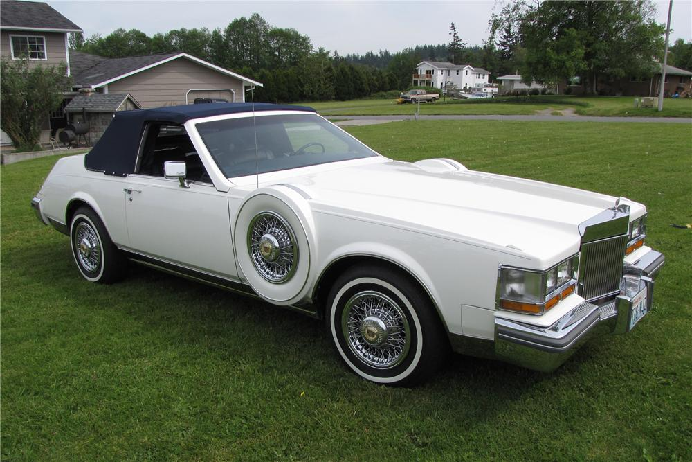 Cadillac Price >> 1981 CADILLAC SEVILLE CUSTOM OPERA CONVERTIBLE COUPE - 93448