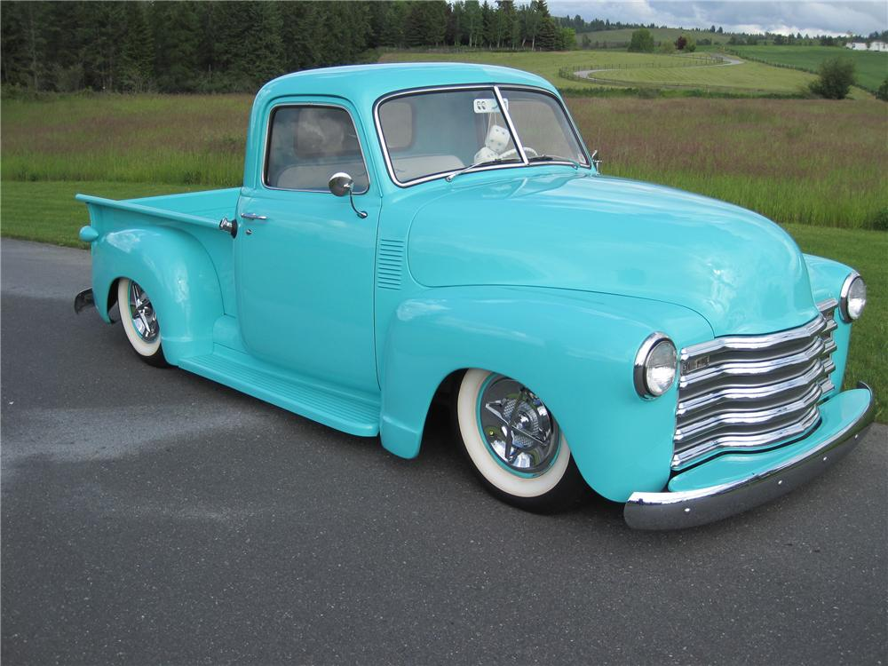 1950 CHEVROLET SHORT BOX PICKUP - 93451