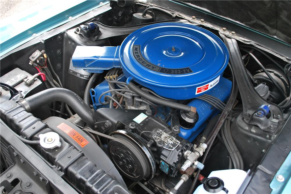 1968 MERCURY COUGAR XR7 COUPE - Engine - 93452