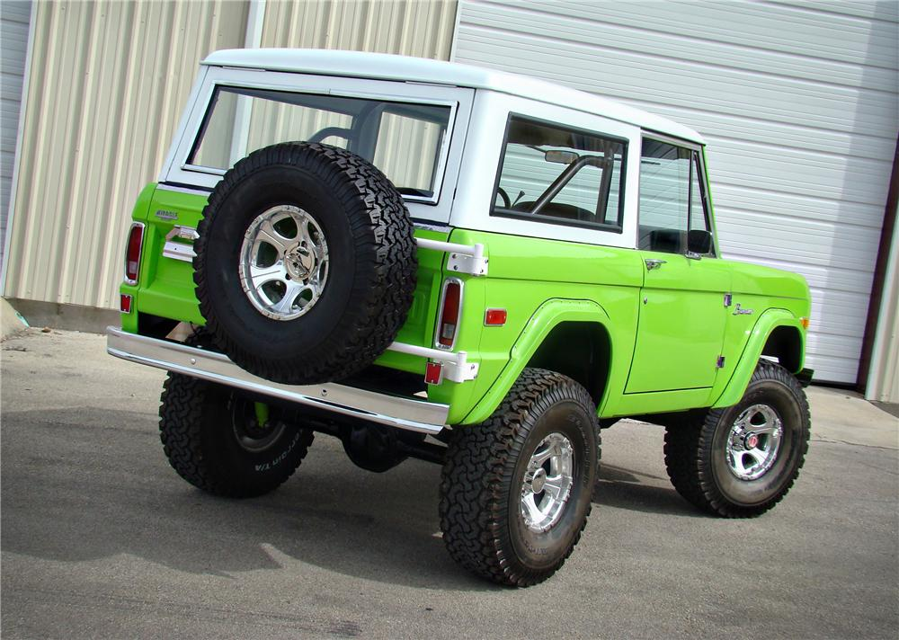 1973 FORD BRONCO CONVERTIBLE