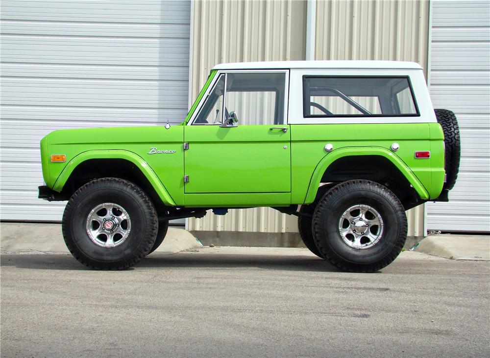 New Ford Bronco Price >> 1973 FORD BRONCO CONVERTIBLE - 93455