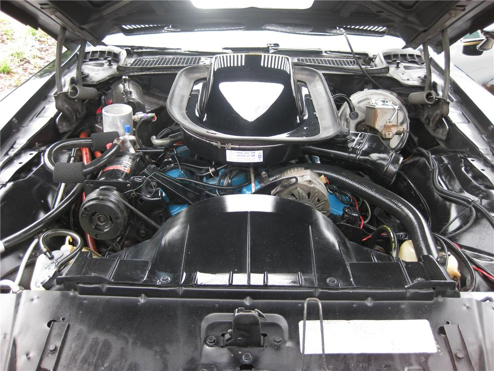 1976 PONTIAC FIREBIRD TRANS AM 50TH ANNIVERSARY COUPE - Engine - 93456
